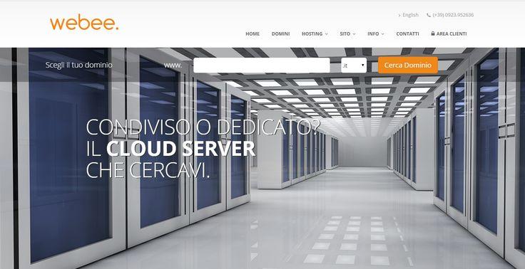 Webee. Hosting sicuro in server farm Telecom Italia