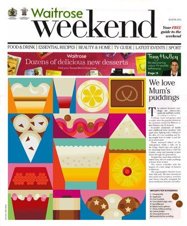 Waitrose Weekend | Gillian Blease
