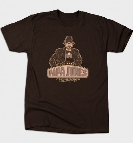 Papa Jones T-Shirt - Indiana Jones T-Shirt is $12 today at Busted Tees!