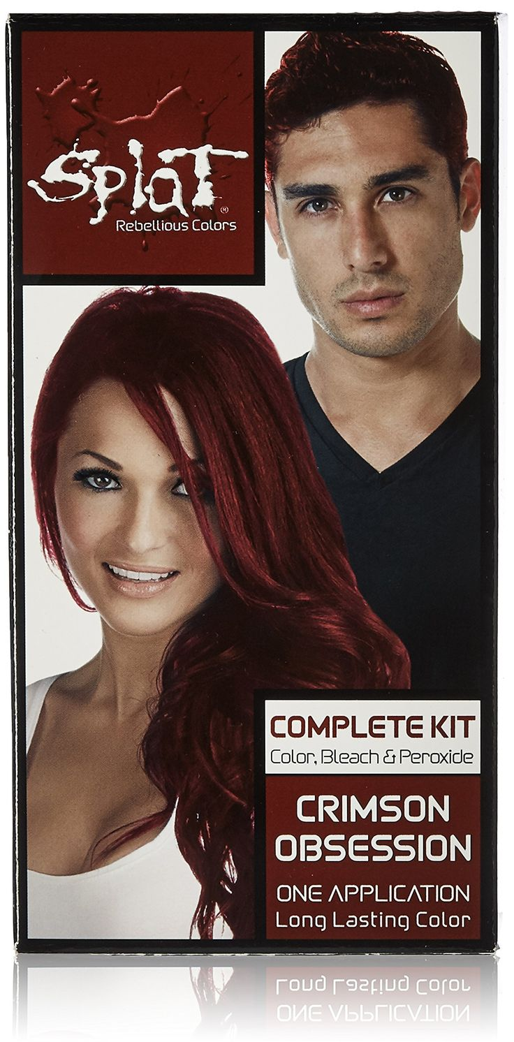 Splat Null, Crimson Obsession. Splat. Hair Dyes. SPLAT, Hair Color.