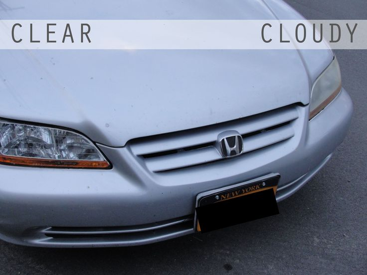 For some reason unknown to me, one of my car headlights was significantly foggy while the other is crystal clear. I have the worst night vision in the world, and a foggy headlight certainly wasn't ...