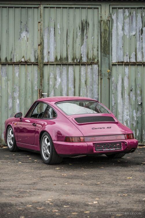 The Porsche 911 Carrera RS
