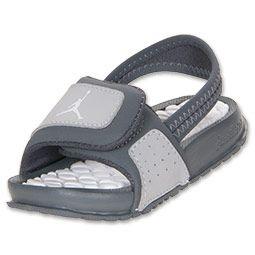 Boys' Toddler Jordan Hydro 2| FinishLine.com | Wolf Grey/Graphite/White : ordered these for summer :)