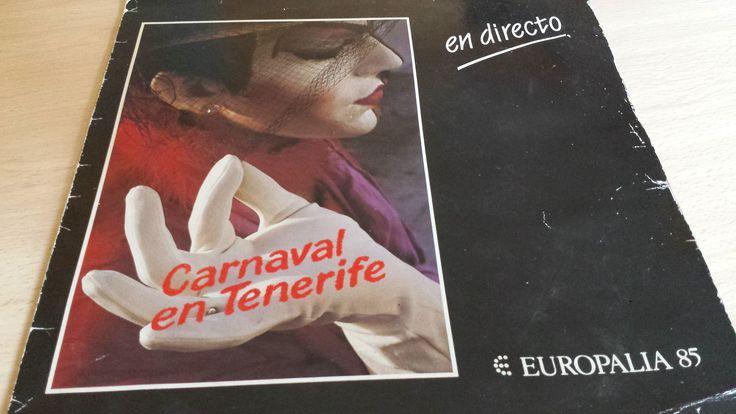 Europalia 85. Vinilo Carnaval Santa Cruz de Tenerife