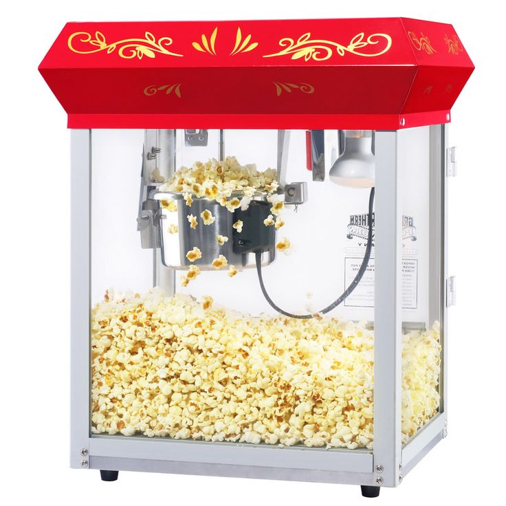 Image result for glass popcorn popper gif