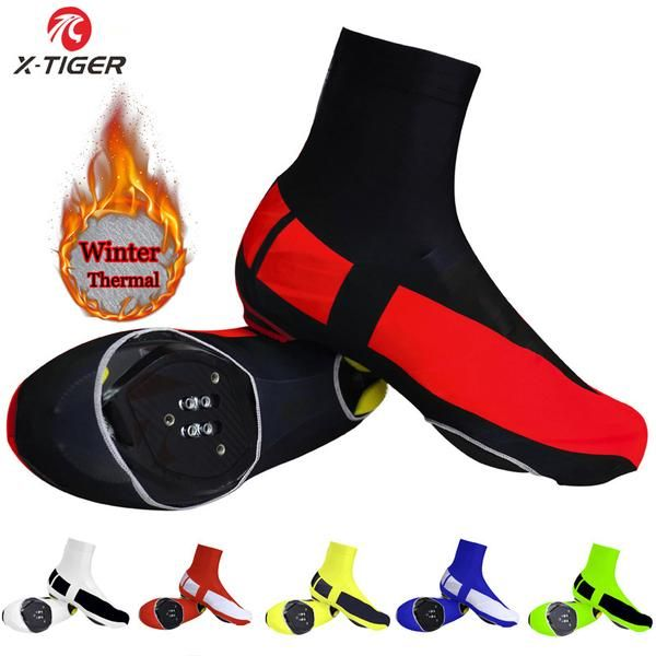 #BlackFriday is coming early #BestPrice #CyberMonday X-TIGER Winter Thermal 8 Colors Cycling Shoe Cover Mans Women Reflective MTB Bicycle…