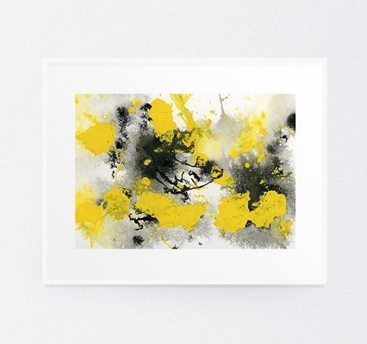 Outburst - Original Acrylic & Ink Painting by Michelle Waldie