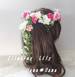 画像は 造花タイプの花冠のお値段のイメージです。 オーダー花冠承ります。 色変更、デザイン変更、ドレスと色合わせも可能 (ボリュームU...|ハンドメイド、手作り、手仕事品の通販・販売・購入ならCreema。