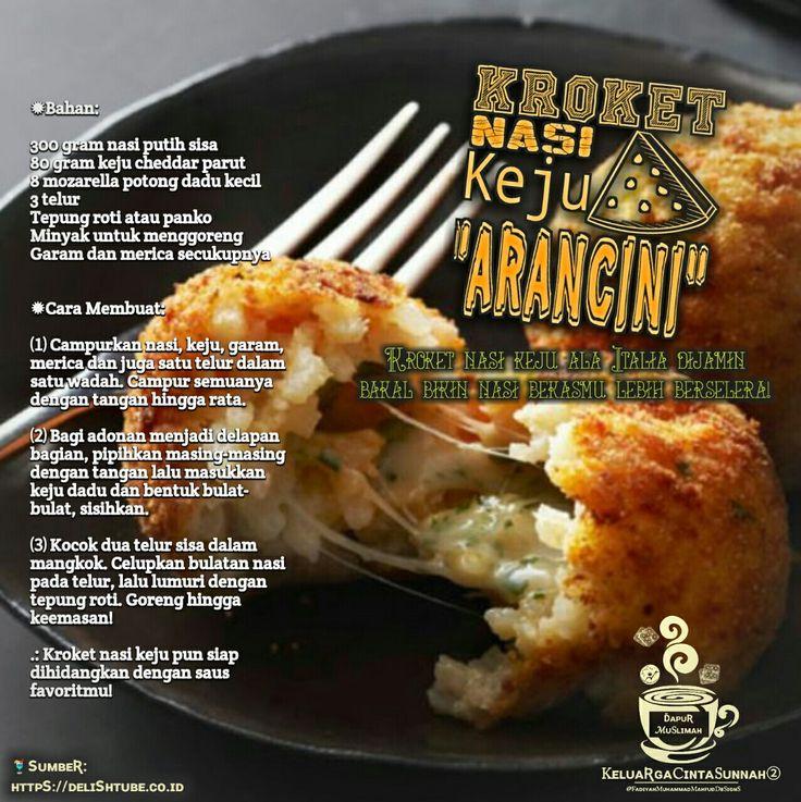 Kroket nasi keju /Aracini