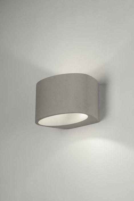 Wandlamp 72427: Modern, Landelijk, Rustiek, Industrie