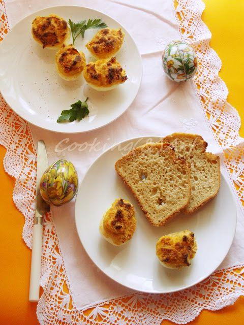 Αυγά γεμιστά / Stuffed eggs