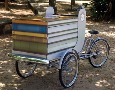 Bicicloteca: books project will take the bike to the City of God community in Rio de Janeiro