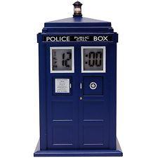 Doctor Who TARDIS Projection Alarm Clock New