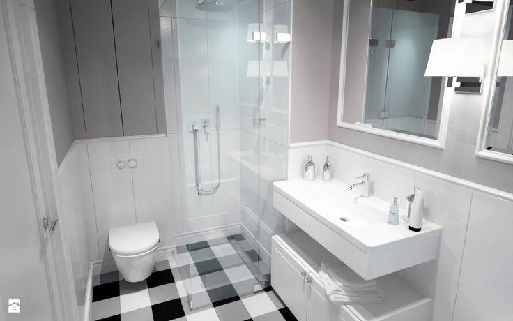 Łazienka styl Skandynawski - zdjęcie od DOMagała Design - Łazienka - Styl Skandynawski - DOMagała Design