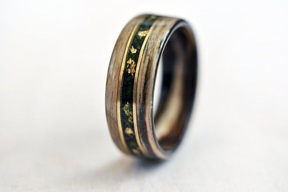 Ring Wood Wood Rings For Men 5 Year Anniversary Wooden Engagement