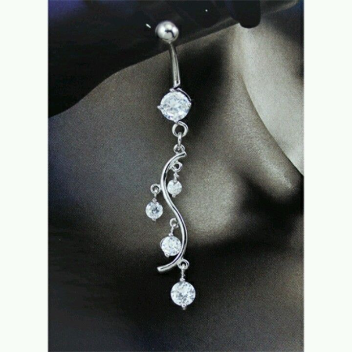 So cute. Belly button ring!