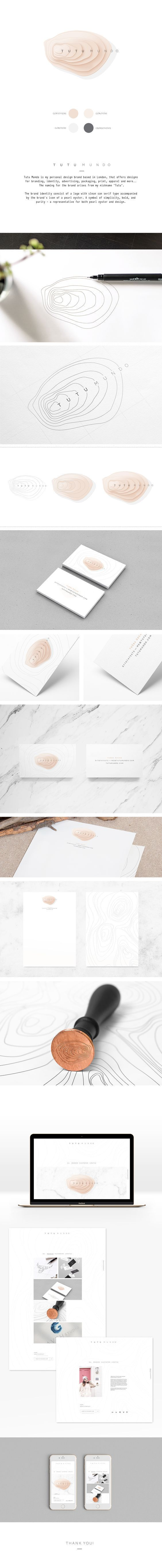 Tutu Mundo Branding on Behance | Fivestar Branding – Design and Branding Agency & Inspiration Gallery