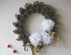 Fabulous Toilet Paper Roll Wreath