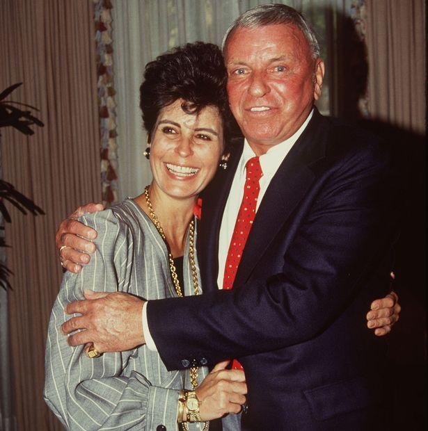 Frank Sinatra with his daughter Tina Sinatra
