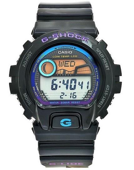 Montre Casio G-Shock noir pour homme et femme, fonction GMT, alarme et chronomètre, petit prix pour cette superbe G-Shock.