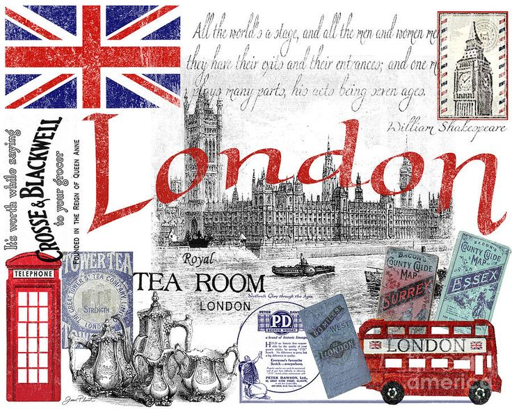 London Digital Art  - London Fine Art Print