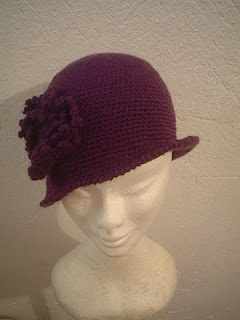 MY CREATION  CROCHET HAT FOR WOMANS