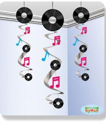 decoracion de fiestas con discos de vinilo - Buscar con Google