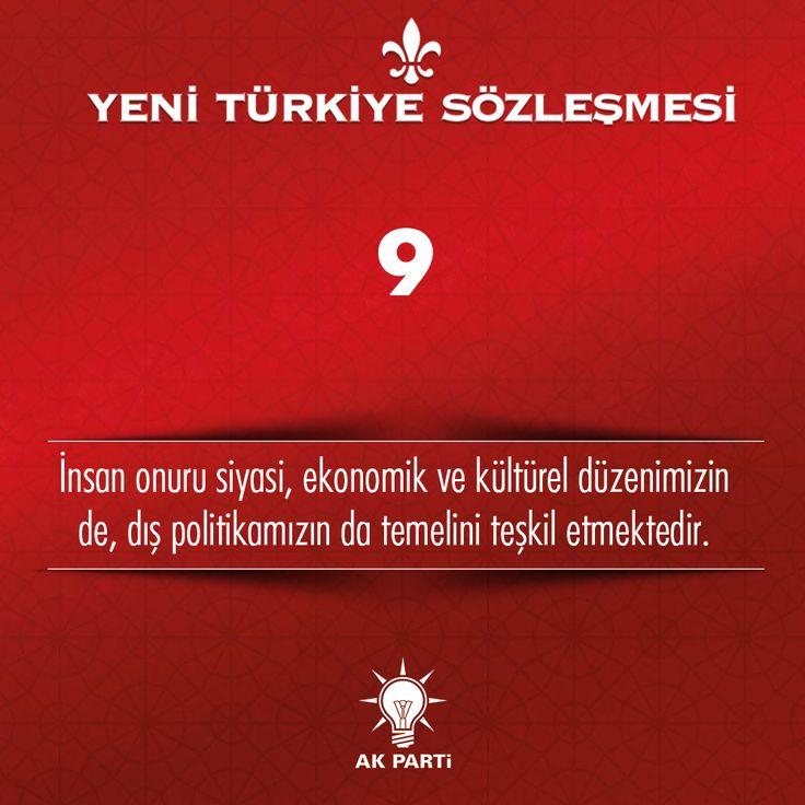 9.Madde, #YeniTürkiyeSözleşmesi
