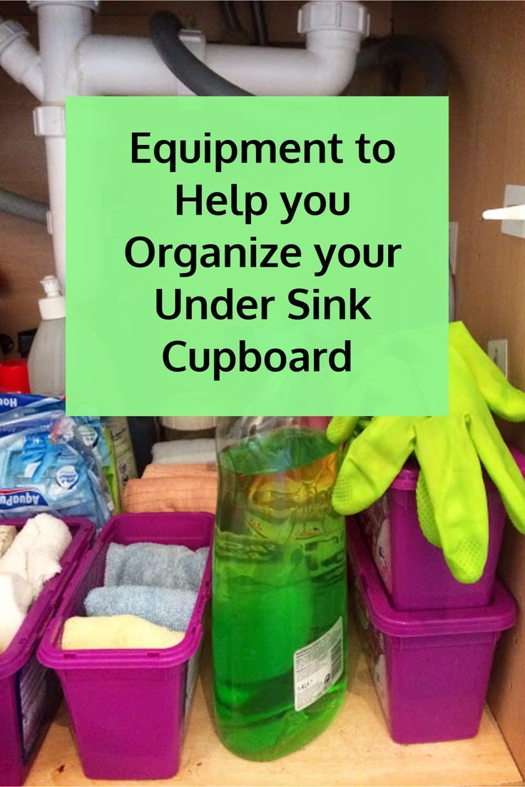 "Best Undersink Organizer shelves to finally put an end to the ""cupboard of doom"" that is the undersink storage area. Equipment to Help you Organize your Under Sink Cupboard"