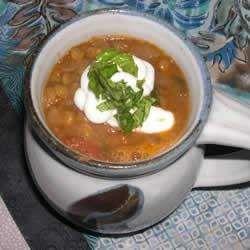 Sopa de Porotos y Chorizo Colorado receta - Recetas de Allrecipes