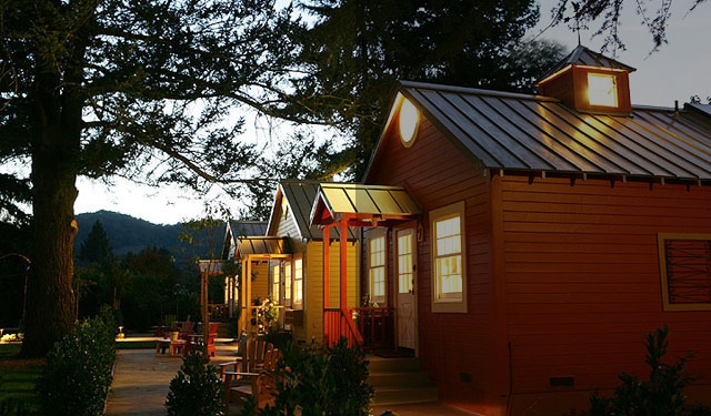 Napa Cottages one of my top local places I want to go to.
