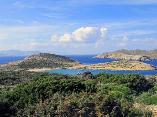 Remote bay, Amorgos