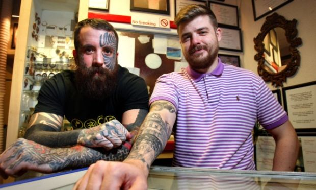 Dundee landmark celebrated in tattoo artist's 'greatest challenge' - Dundee / Local / News / The Courier