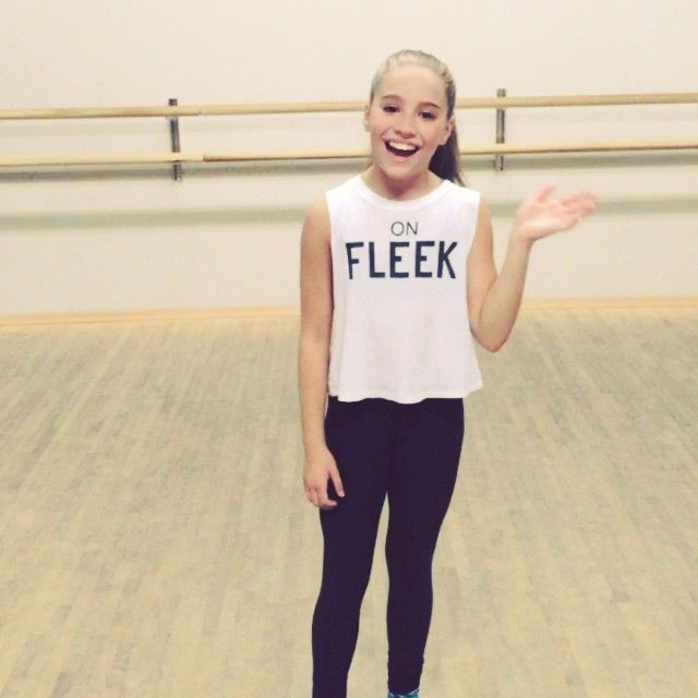 Kenzie has grown up so much! She is so pretty! I am glad to say I have watched her grow up! She is such a great dancer! She may not dance like Maddie but I don't care! She is amazing