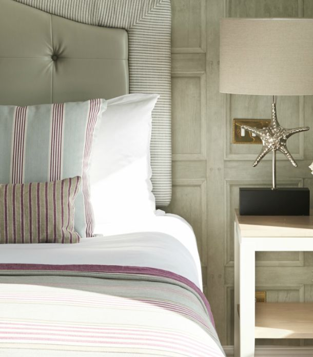 SUSSEX: Soft grey, ivory and brick was the colour theme of our room at The Grand, Brighton. With painted furniture and sophisticated accessories, the theme was more country manor than seaside retreat.