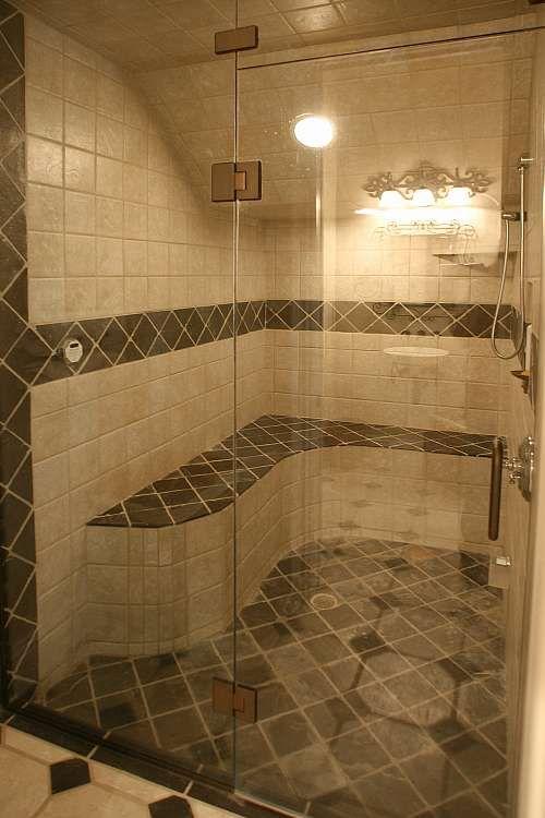 bathroom design idea walk in shower wwwhomeimprovement njcom. beautiful ideas. Home Design Ideas
