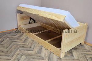 ŁÓŻKO TAPCZAN TWARDZIEL sosna pod materac 90x200