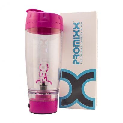 Promixx Shaker, bärbar shaker som kan användas till att mixa egna hälso- och detoxjuicer. Finns att köpa hos Ecoliving.se