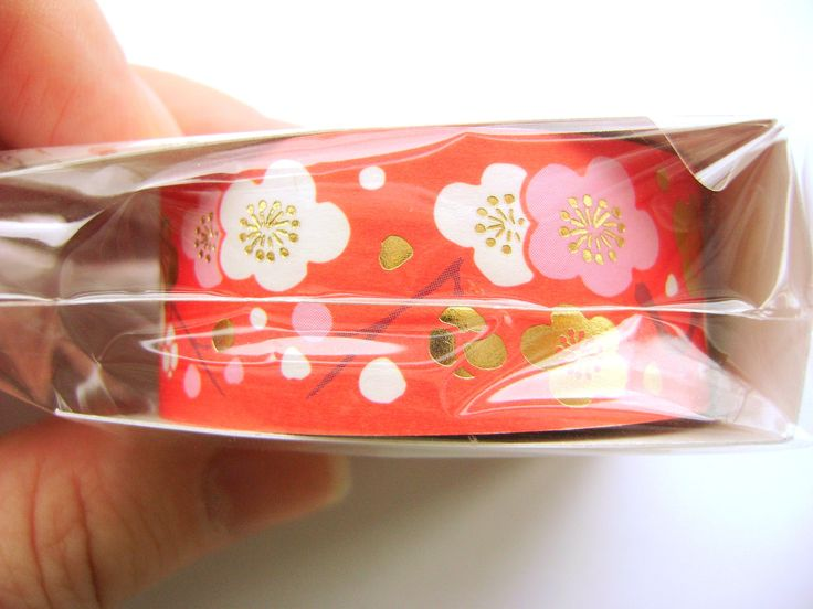 Take a look at my listing, folks👇 Plum Blossom Sticker Tape  Japanese Happy New Year Sticker Tape http://etsy.me/2rpmLPX #japan #etsy