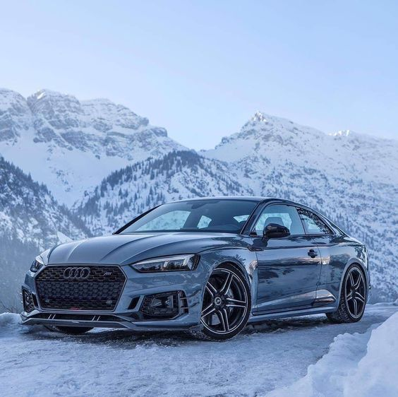 Amazing Audi Rs5 Playing In The Snow Cars And Motor Audi Rs5 Dream Cars Audi