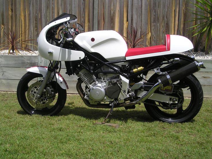 Cafe Racer Special: Yamaha TRX 850 Cafe Racer by Troy