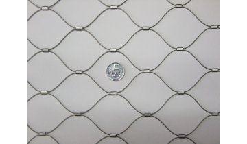 Nerezové sítě vlákno 1.2 mm oko 51 x51 mm