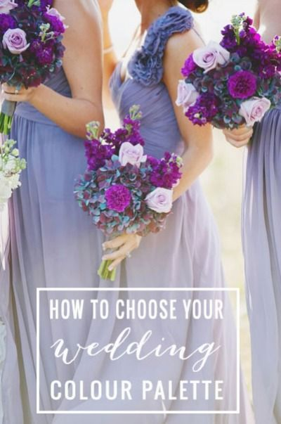 So many colors! Easily pick a beautiful color palette for your wedding day with this complete guide.