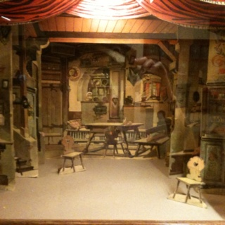 Theatre maquette at the Frederic Mares museum in #Barcelona