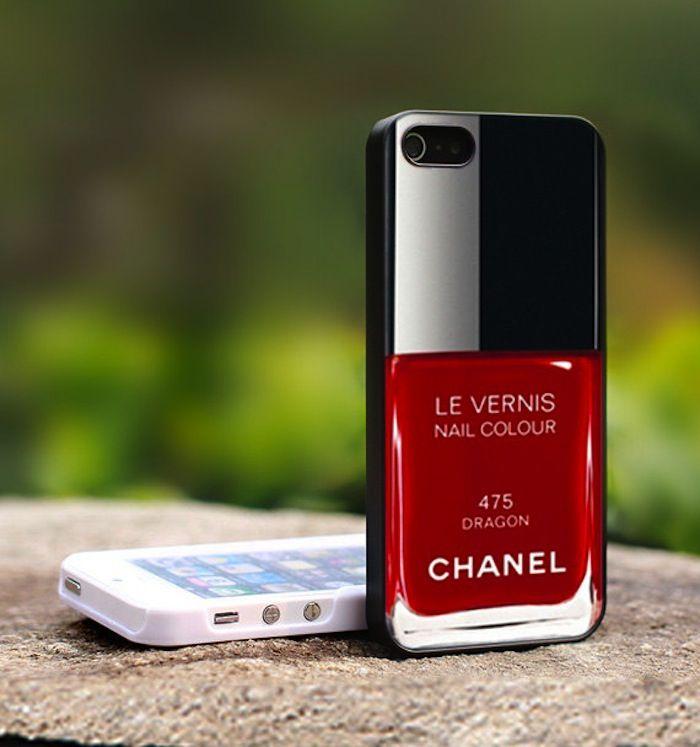 chanel le vernis iphone case