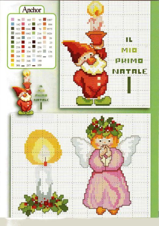 Gallery.ru / Фото #16 - COSE PER CREARE Natale dei bimbi - NINULYKA