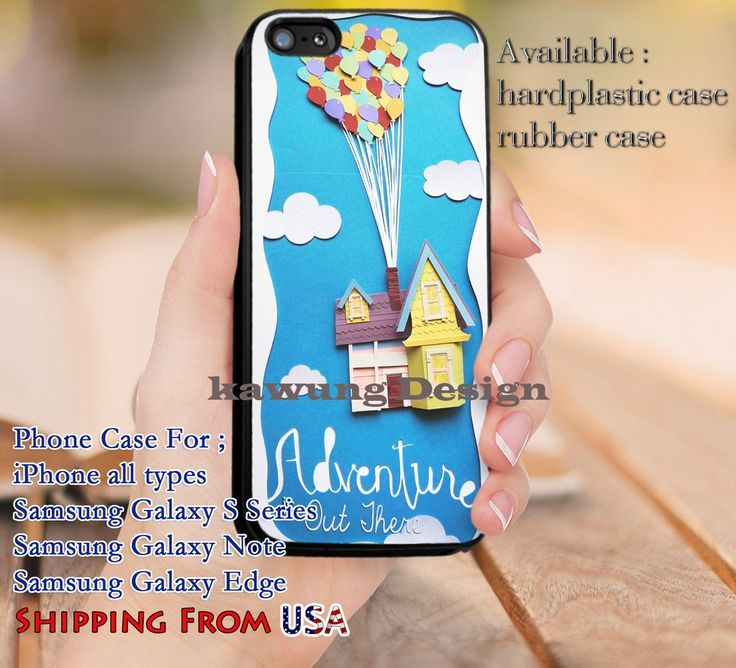 Adventure is Out There Up Quote iPhone 6s 6 6s  5c 5s Cases Samsung Galaxy s5 s6 Edge  NOTE 5 4 3 #cartoon #disney #animated #up dl9