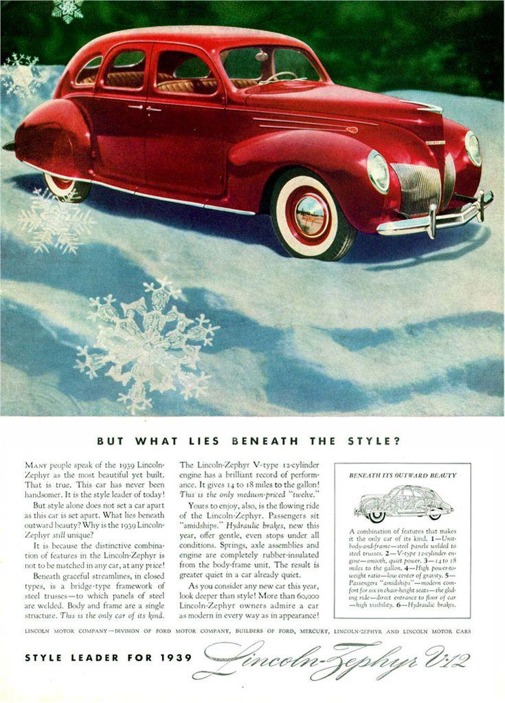 53 best Lincoln 1930\'s images on Pinterest | Vintage cars, Old ...