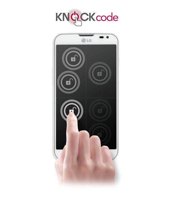 Sbloccare lo smartphone in modo pratico e sicuro?  Con LG e LG KNOCK CODE... now it's all possible!