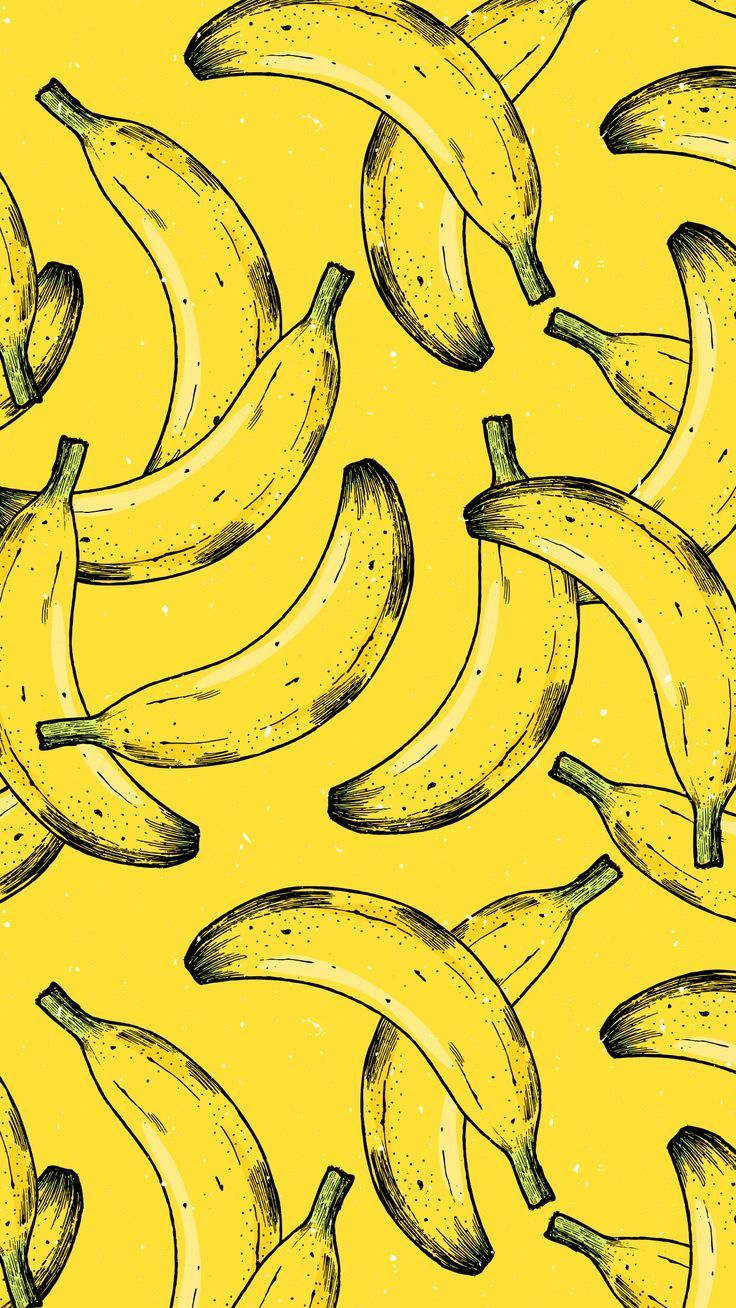 Banana iPhone Wallpaper🍌    - Mellow Yellow - #Banana #iPhone #Mellow #Wallpa...
